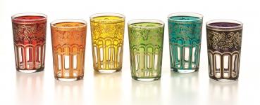 Orientalisches Tee-Glas Set