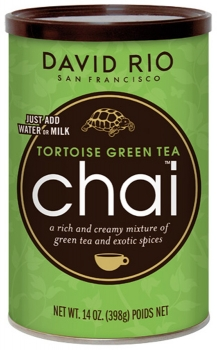 David Rio Tortoise Green Tea Chai