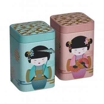 "2er Dosen-Set ""New Little Geisha"" (max. 100g)"