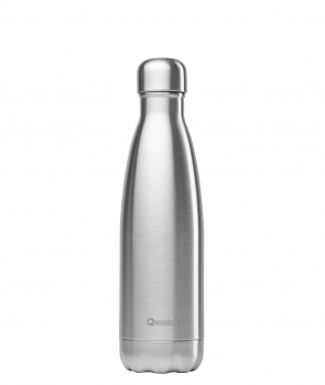 "Qwetch Thermosflasche ""Edelstahl"" (500ml)"