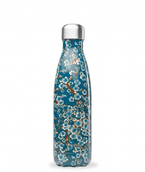 "Qwetch Thermosflasche ""Blume blau"" (500ml)"