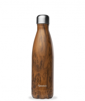 "Qwetch Thermosflasche ""Wood"" (500ml)"