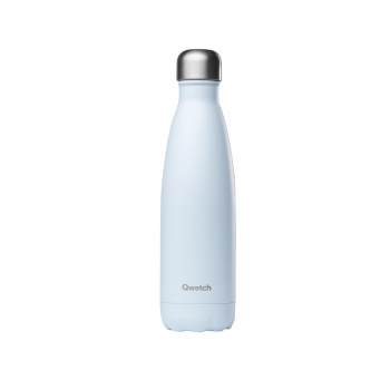 "Qwetch Thermosflasche ""Pastelle Blau"" (500ml)"